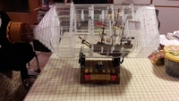 775 Pcs The Ship In The Bottle Bricks Set Sale Pirate Of The Caribbean MOC Building
