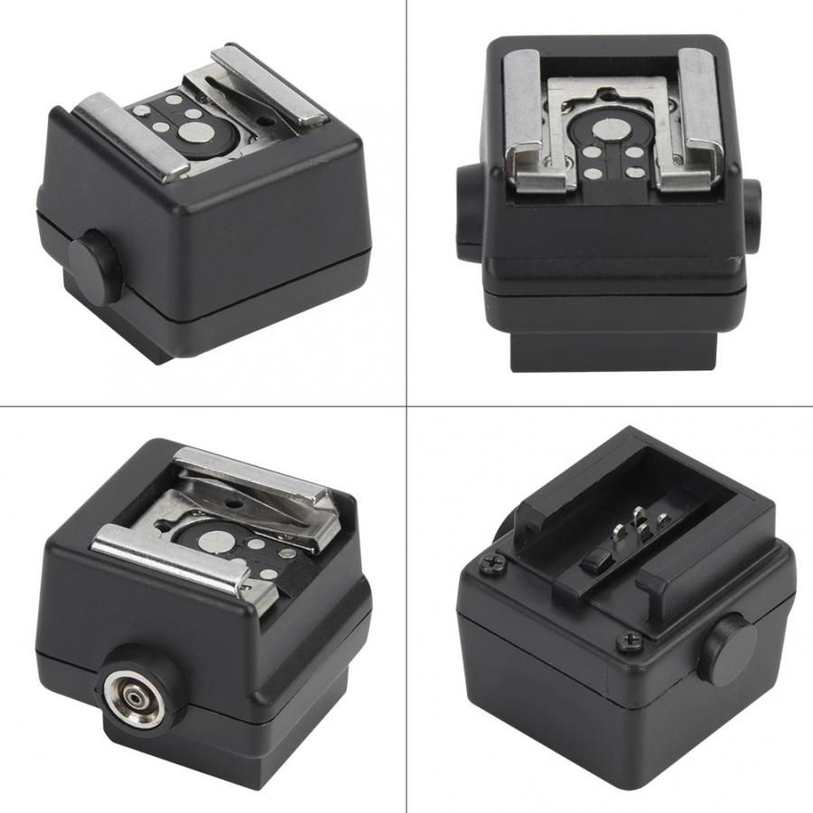 Plastic Hot Shoe Adapter Converter For Sony Alpha A100 A200 A230 A290 A300 A330