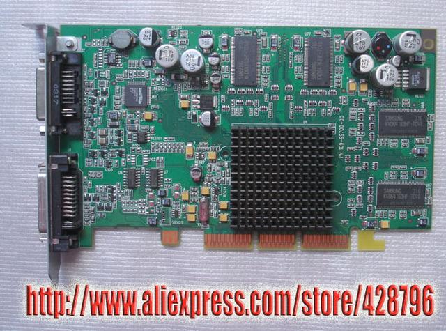 RADEON 9000 64 MB (ADC/DVI) (AGP) PLACA DE VÍDEO 661-2745 603-1989 630-4693 para o PODER M G4