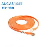 12pcs Pack 10 Gigabit CAT6 UTP Patch Cable 0 5M 3 Colors For Optional Ethernet