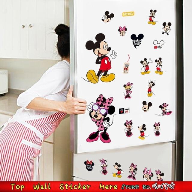 Mickey Minnie Maus Wandaufkleber Für Schrank Kinderzimmer ...