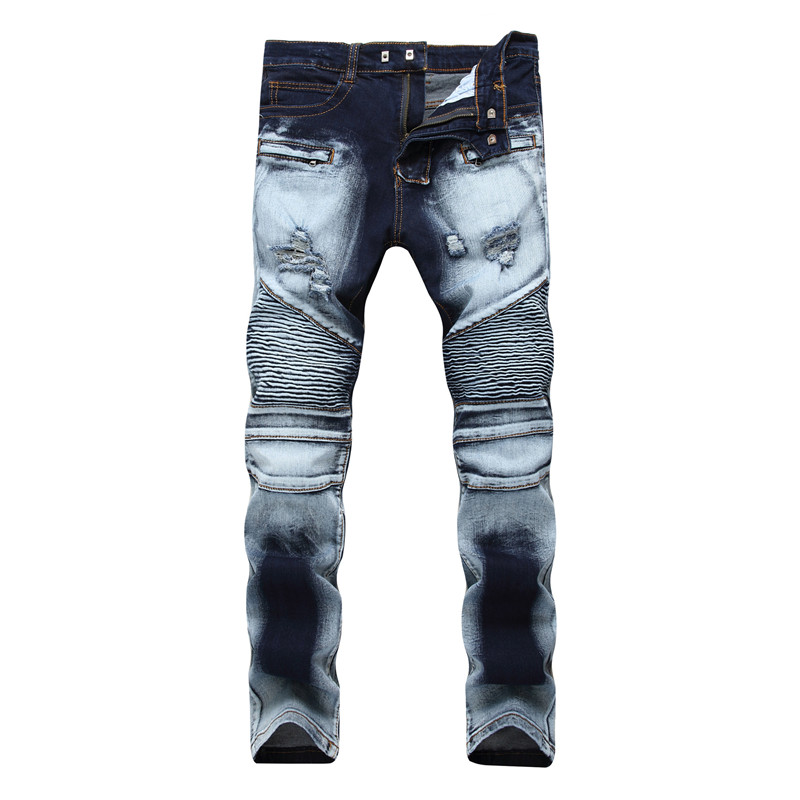 MENS NEW DESIGNER SKINNY STRETCH RIPPED JEANS CHINO PANTS STONE COLOUR RRP £25
