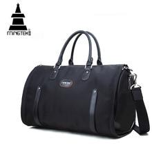 Nylon Faltung Reisetasche Handgepäck Geschäftswasserdicht Schulter Anzug Taschen Große Kapazität Tote Faltbare Seesack Unisex