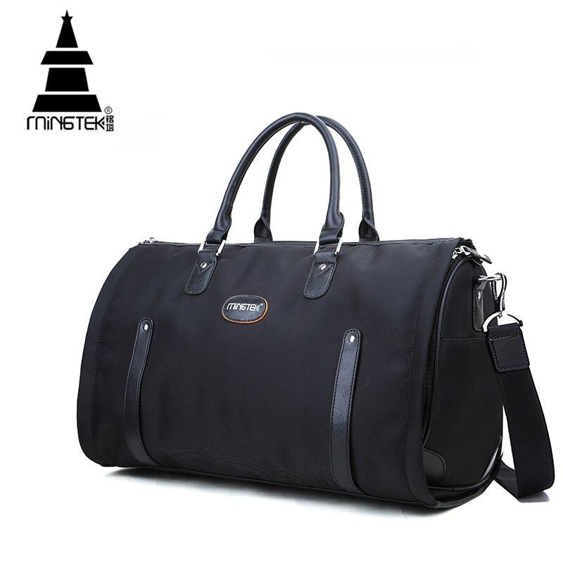 Nylon Folding font b Travel b font font b Bag b font Hand Luggage Business Waterproof