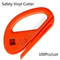 100 Шт. Snitty Безопасности Резец Винила Автомобиля Wrap Режущий Инструмент Углеродного Волокна Резки Приложения Нож ZIPPY CN001