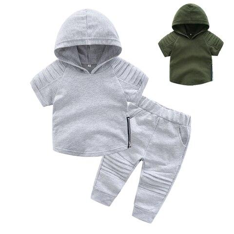 2019 casual da crianca do bebe criancas meninos roupas definir camiseta amor voce gesto bonito