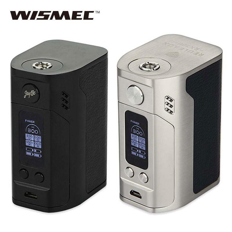 Prix pour Cigarette électronique WISMEC Reuleaux RX300 TC Vaping Mod 300 W wismec rx300 Boîte Mod VW/TC Modes Mod Vs RX2/3 Mod 100% d'origine