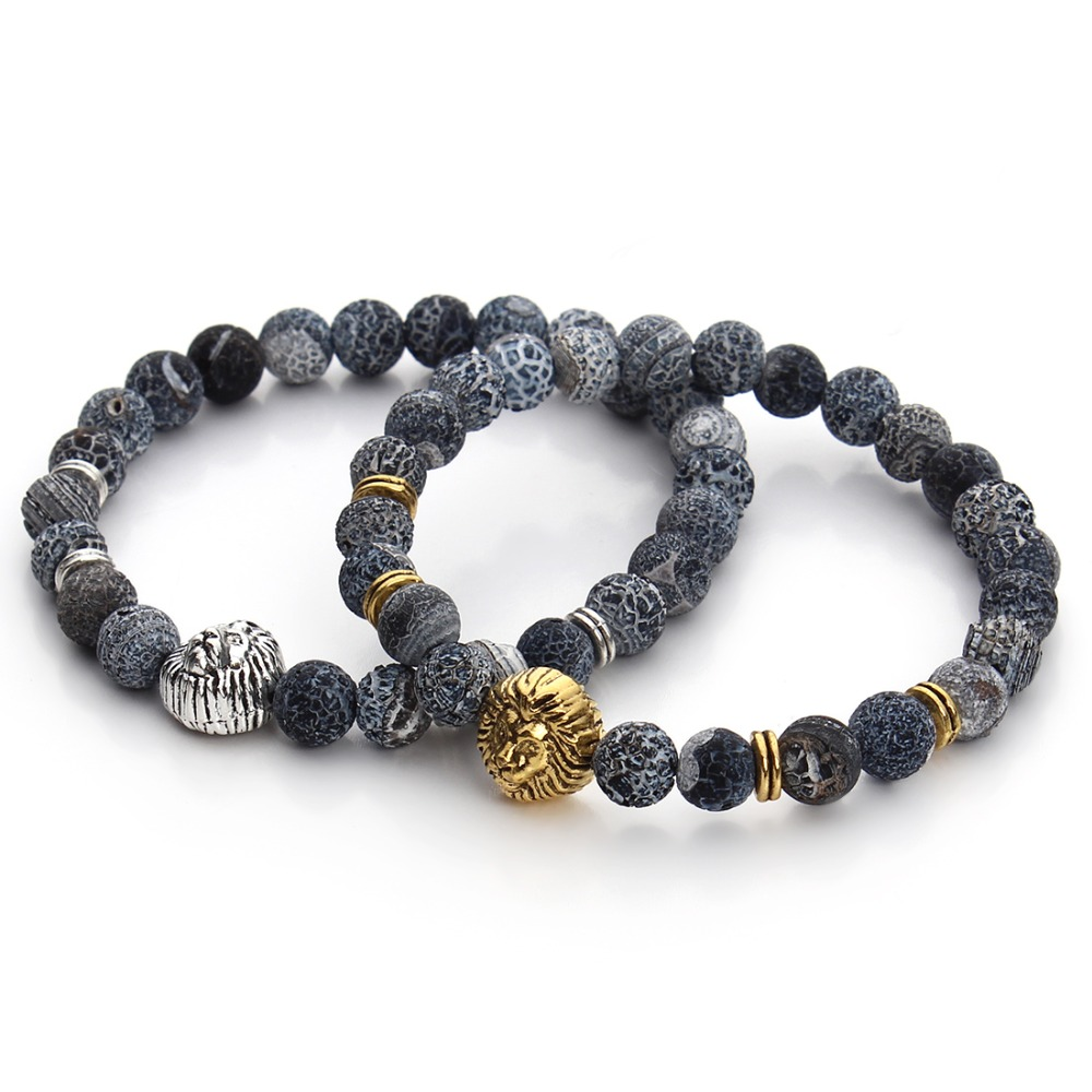 owl wholesale men new beads lava fashion stretch bangle store yoga accessories jewelry for lovers stone bead product bracelet women natural