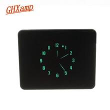 GHXAMP VFD Pointer Time Clock With light sensing Automatic Brightness Adjustment DC 5V Aluminum Manual 8 level Adjustment 1pc