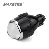 2x 2 5 Inch 3 Inch Car Bi Xenon Projector Lens Kit H11 Bulbs Crystal Clear