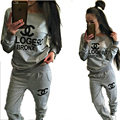 2016 spring cotton sweater suit suit explosion hooded printing Couture 9915