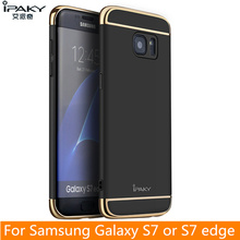 For Samsung S7 Edge Case Original iPaky Brand Back Case for Samsung Galaxy S7 Cover Hollow Hard Armor for S7 Edge Case