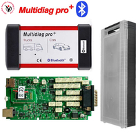 New VD TCS CDP Multidiag Pro+Bluetooth with Single Green Board PCB chip+Plastic Box for Cars Trucks OBD2 Scanner Diagnostic Tool