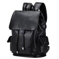 Рюкзак из натуральной кожи Для мужчин Внешний USB зарядки противоугонные школьная сумка кожаная дорожная сумка Повседневное Bagpack