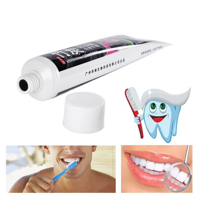 Bamboo charcoal all-purpose whitening the black toothpaste 110 g Toothpaste