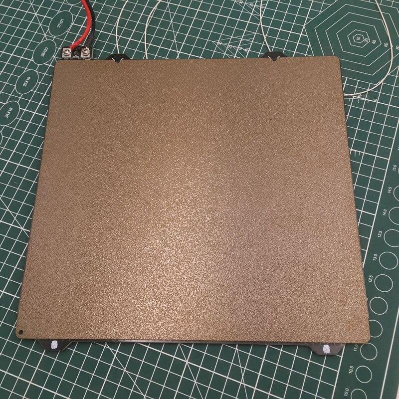 1 ensemble Prusa i3 MK3 lit chauffant en acier PEI feuille enduite de puissance Ultem 1000 PEI plaque