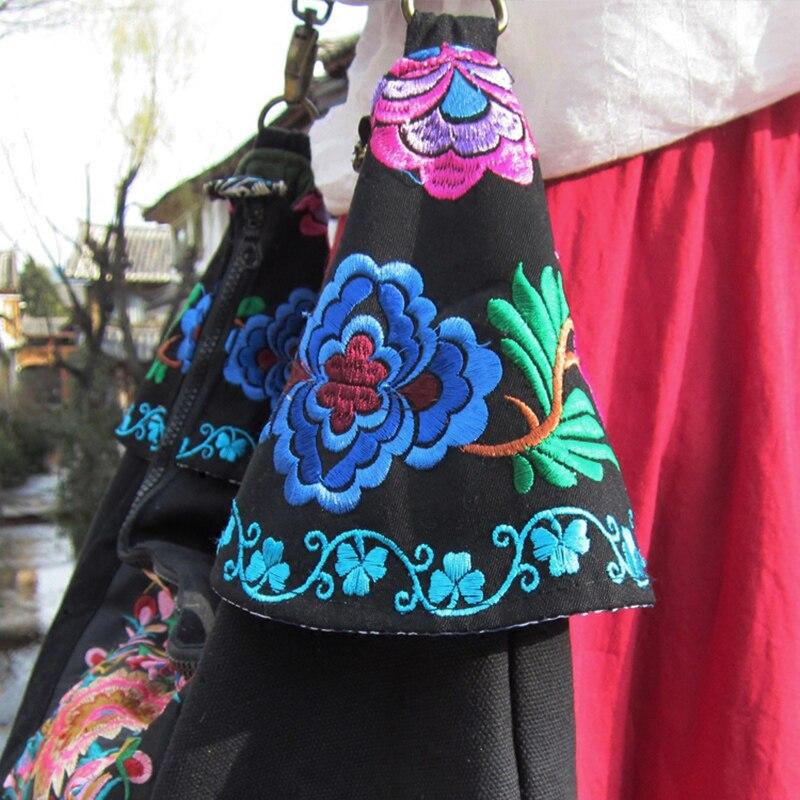 Indienne Sac Tribal Femme À De Thai Femmes Vintage Épaule Main Embroidered Hmong Bandoulière Boho Broderie Ethnique Linge Dos x47aAXwqE