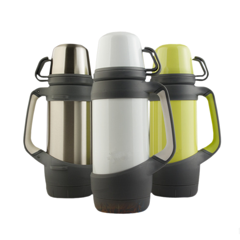 1200ml Stainless Steel Water Bottle Thermos Vacuum Flask Large Capacity Outdoor Travel Kettle Drink Bottle Cups