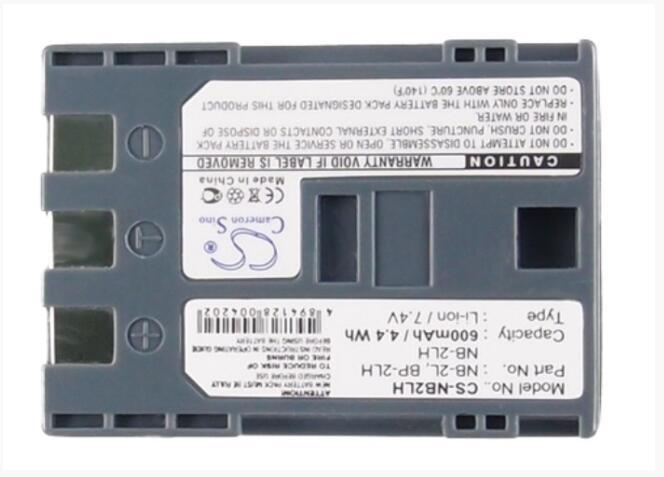 S80 Cargador S55 Batería NB-2L NB2L NB-2LH 850mAh para Canon PowerShot S45