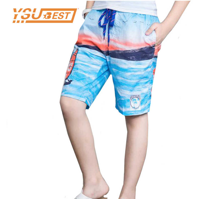 5525b50947 2019 Small Size 6 8 10 12 14 16 Years Old Boys Kid Boy's Board Shorts