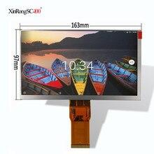 Novo 7 polegada para turbopad 701, 721 163*97*3mm 1024*600 tft lcd tablet lcd tela painel matriz substituição digital