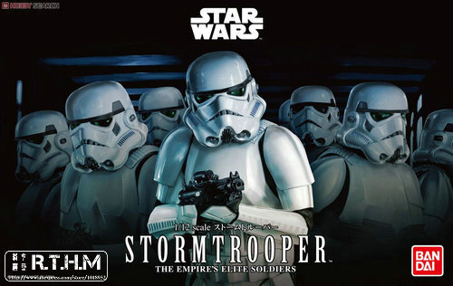 Bandai Star Wars 1/12 Storm Trooper Plastic model