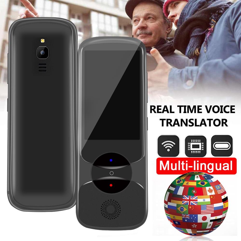 IFlytek 3.0 Easytrans 900 AI Instant Voice Translator Portable Languages Translator Offline Interpreter Dictionary 13Mp Camera