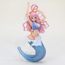 Anime One Piece Shirahoshi Action Figure Mermaid Princess Toy