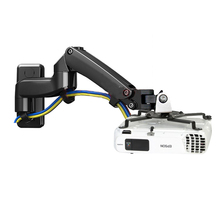 NB-F150PR-A 2-7kg Gas spring projector mount wall bracket full motion rotate aluminum with projector hook tray