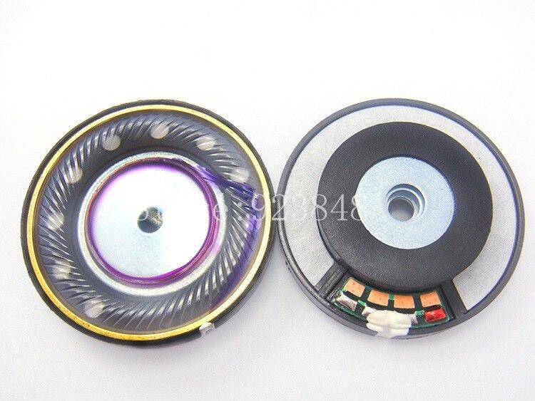 Parfait qualité sonore Trois membrane unité 40mm haut-parleur unité 1 paire = 2 pcs