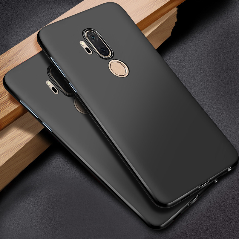 design senza tempo 5d248 48698 US $2.69 10% OFF|For LG G7 thinQ Silicone Case Cover Soft TPU Bumper  Shockproof Protective Armor Back Cover Rugged Case For LG G7 thinQ  Fundas-in ...