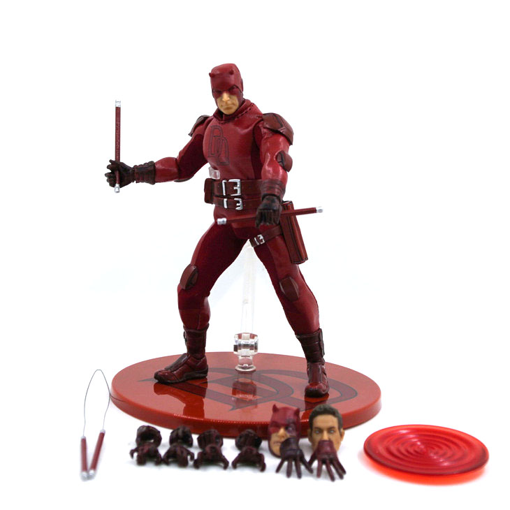 15CM anime figure Matthew Michael Murdock Daredevil action figure collectible model toys for boys 2017 anime body kun body chan movable action figure model toys anime mannequin bjd art sketch draw collectible model toy