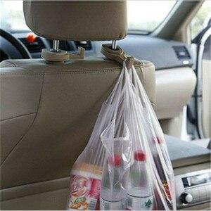 Image 1 - 2 pcs/pair הנסתרת משולב סוג מושב מכונית בחזרה וו רכב אביזרי ללא דלת בחזרה