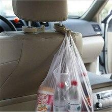 2 unids/par multifunción tipo oculto asiento trasero gancho automotriz accesorios no perforados puerta trasera