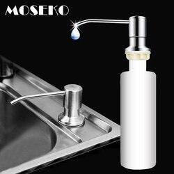 MOSEKO дозатор для кухонного мыла для раковины, моющее средство, жидкость для мытья рук, дозатор для мыла, насос для кухни, головка из нержавеющ...