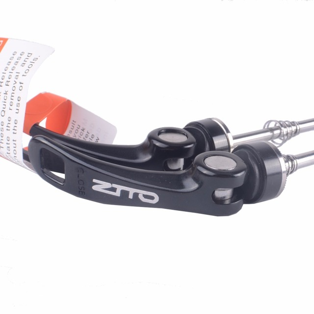 ZTTO 1 Pair Bicycle Skewers Bike Wheel Hubs Quick Release 100mm 135mm Cycling Thru Axle Wheels for Mountain Road Bike Parts