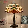 Средиземноморский ретро стиль стеклянная Турецкая мозаика настольные лампы ручная работа кабинет спальня домашний художественный Декор Т...