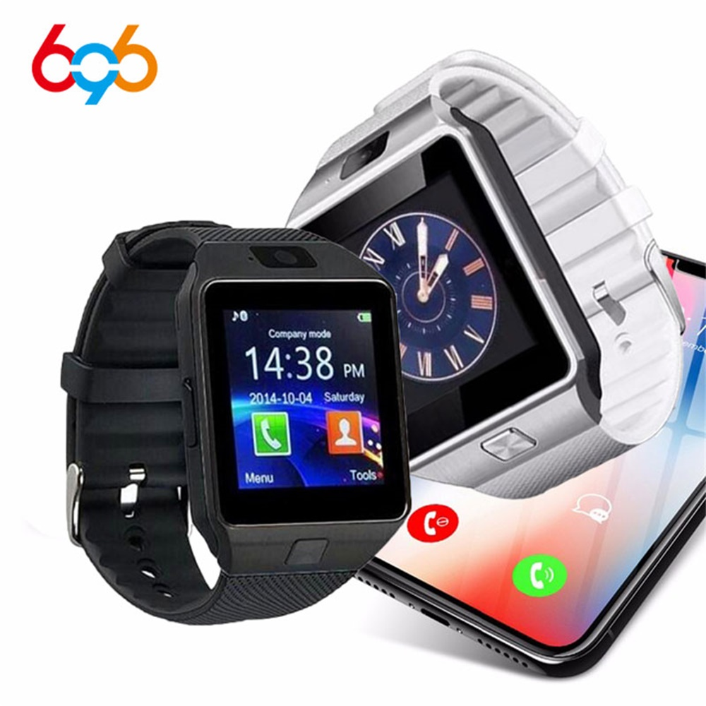 696 Bluetooth DZ09 Smart Watch Phone support 2G Call SIM TF Camera for iPhone for Samsung for HUAWEI VS Y1 Q18