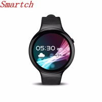 Smartch I4 Smart Watch Android 5.1 With SIM Card 1G+16G Bluetooth WIFI APP Download GPS Heart Rate Monitor Google Smartwatch Pho