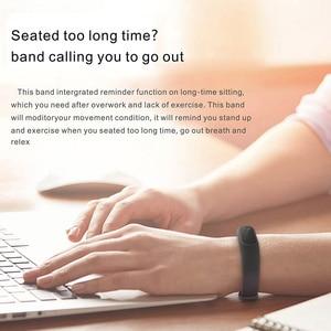 Image 5 - HORUG Bracelet intelligent bande Smartband Bracelet de suivi de forme physique Bracelet intelligent podomètre de pression artérielle Sport moniteur de fréquence cardiaque