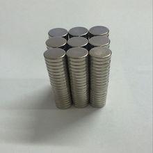20pcs Neodymium N35 Dia 8mm X 3mm Strong Magnets Tiny Disc NdFeB Rare Earth For Crafts Models Fridge Sticking
