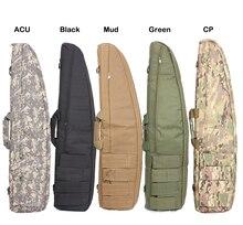 цены 95cm Tactical Soft Gun Bag Black Heavy Duty Tactical Shotgun Rifle Case Shoulder Pouch Carbine Bag shooting Gun carry case