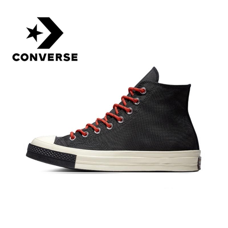 Original Converse Skateboarding toile chaussures 1970 s unisexe classique toile haut nouveau confortable soutien choc-absorbant 2019