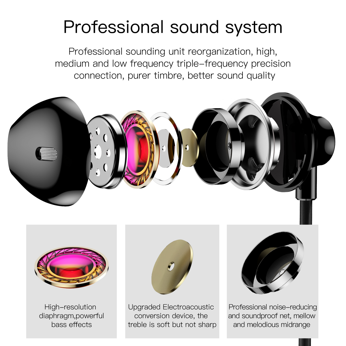 Diagram Soft Headphones Wiring Data Schematic Headphone Jack Also Headset With Mic Baseus Wired Earphone In Ear Stereo Bass Sound 3 5 Rh Aliexpress Com Colors