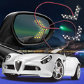 2pcs LED Car Turn Signal Lights Rear View Mirror Indicators white Lamps Arrow Panel Side Bulbs Car Styling Accessories Safety