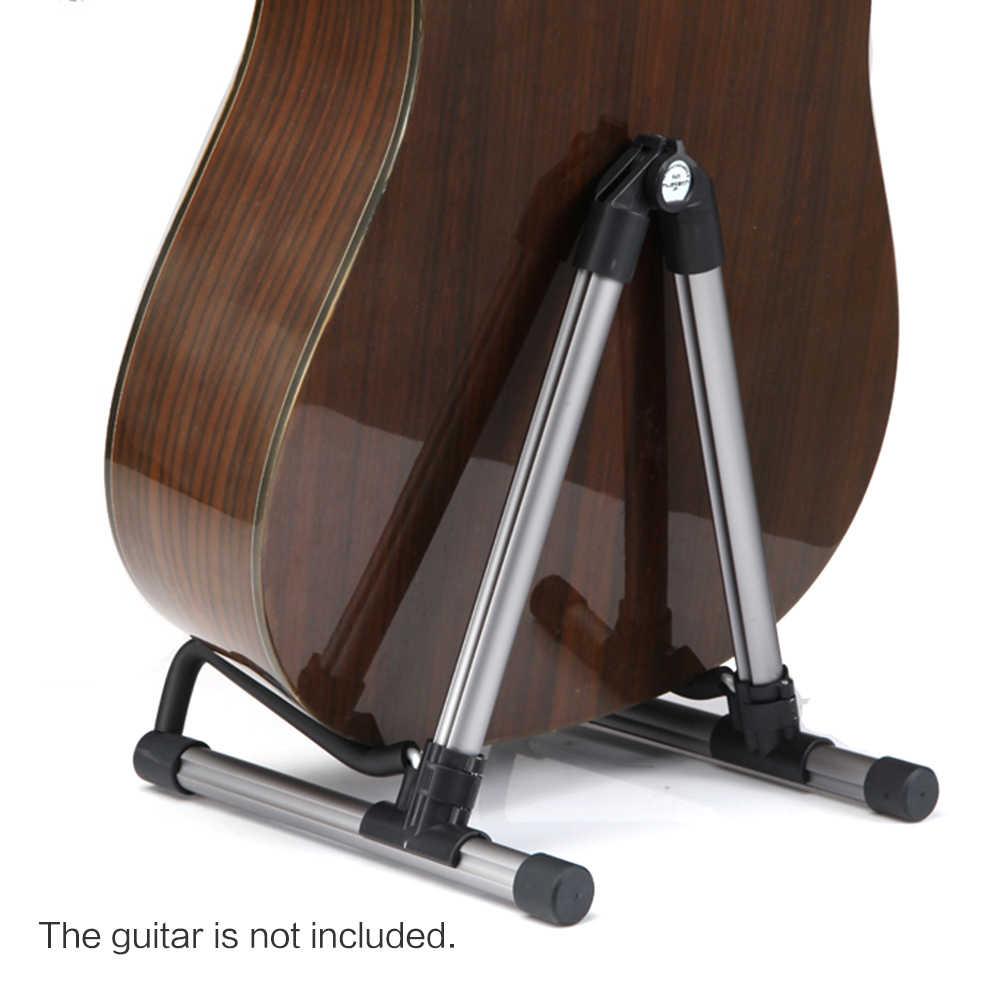 العالمي طوي للطي خفيفة الوزن المحمولة الغيتار باس الوترية أداة حامل حامل لالمهنية عازف الجيتار