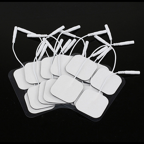 20Pcs Replacement Pads for Massagers Tens Units Non-woven Fabric Electrode Pads