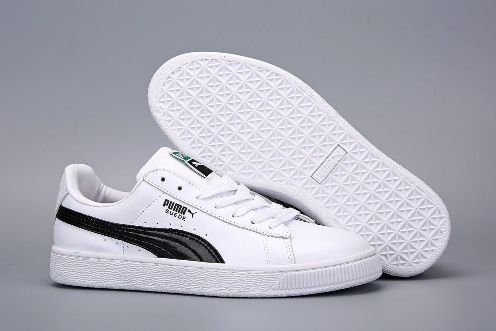 Official PUMA Suede Classic Hard-Wearing Leather Mens Badminton Shoes Sports Sneakers