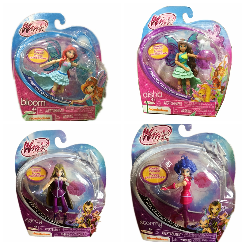 Winx Club Doll rainbow colorful girl Action Figures Fairy Bloom Dolls Classic Toys For Girls Gift