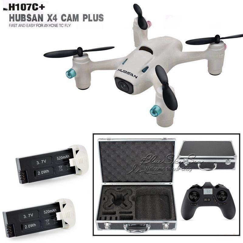 Free Shipping Hubsan X4 Camera Plus H107C 2 4G 4CH HD 720P RC Drone w 2